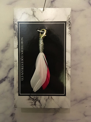 Red Feather Charm