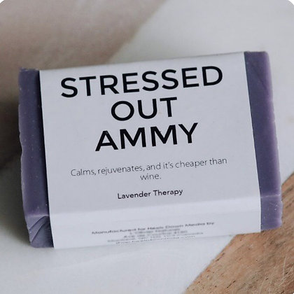 Stressed Out Ammy – Lavender