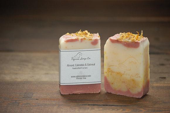 Almond, Calendula & Oatmeal Soap