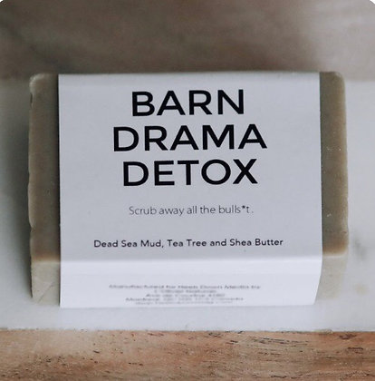 Barn Drama Detox – Dead Sea Mud
