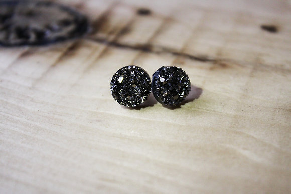 Mini Silver Lining On The Rocks Earrings