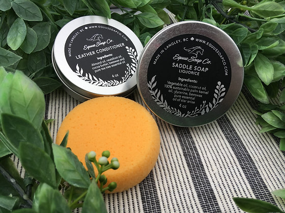 Saddle Soap-Liquorice