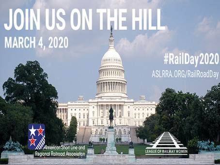 Join us at Railroad Day on Capital Hill.