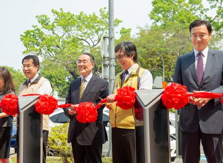 臺南智慧路邊停車系統東區第一階段啟用422格