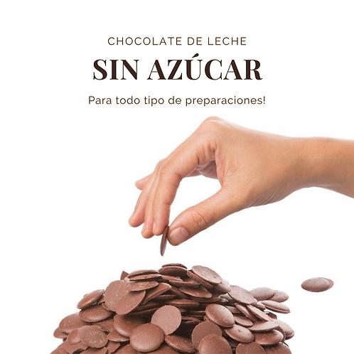 CHOCOLATE LECHE 31% SIN AZÚCAR 700 gr