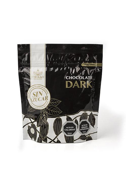Chocolate SIN AZÚCAR 53% cacao 250 gr