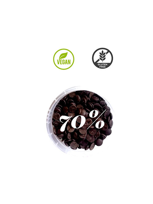 Chocolate bitter 70% cacao 700 gr