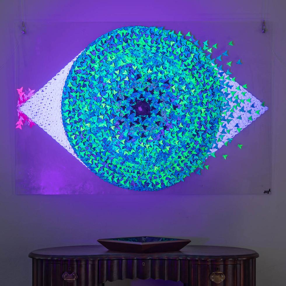 UV Blue Eye