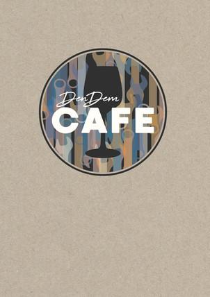 Brand identity/logo design for the bar DenDem Café