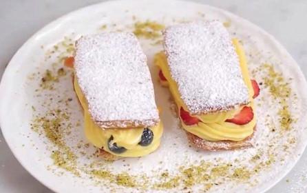 Meyveli Napolyon Pasta