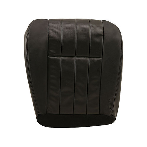 2006 2007 F250 Harley-Davidson Driver Bottom Perforated Leather Seat Cover BLACK