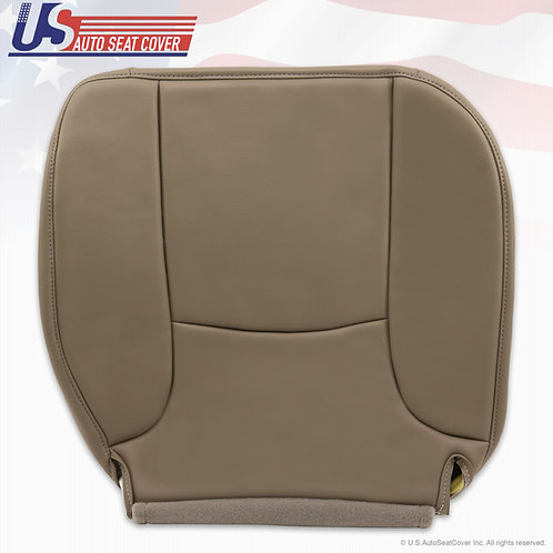 2002-2005 Dodge Ram Passenger Bottom Synthetic leather seat cover in Tan