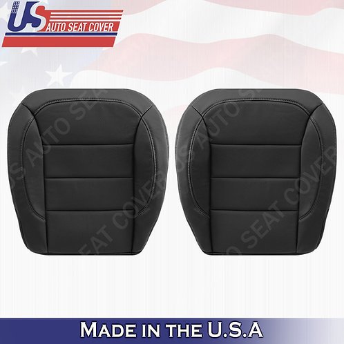 2012-2015 Mercedes Benz M-Class 2XBottoms Perforated Leather Cover Black