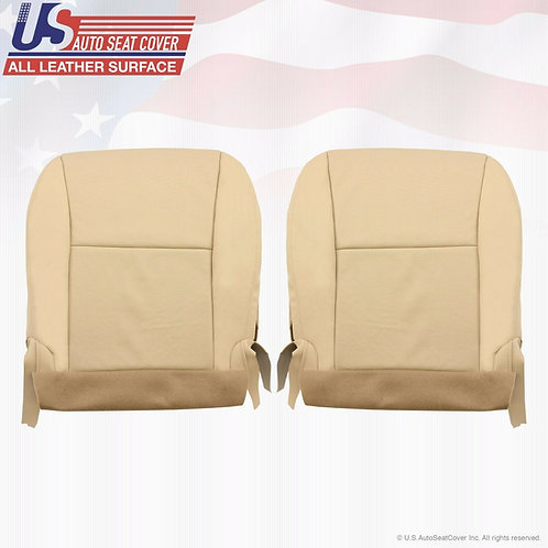 2010-2014 Lexus RX350 Front Bottom Perforated Leather Seat Covers Tan