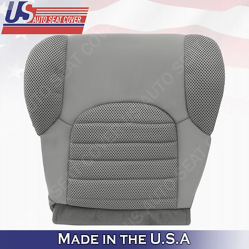 2007- 2015 Nissan Pathfinder Driver Bottom Cloth seat covers in gray