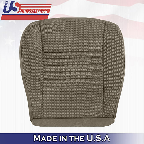 2006-2008 Dodge Ram 1500 WORK TRUCK Driver bottom cloth seat cover in Tan