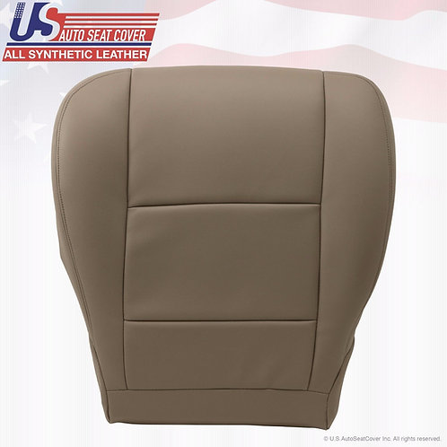2001-2007 Toyota Sequoia Tundra Driver Bottom Leather Seat Cover Tan