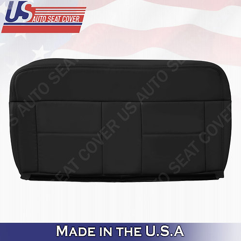 2004-2007 Ford F150 Lariat REAR Driver Bottom Leather Blck Cover