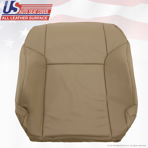 Fits 2003-2009 Toyota 4runner Driver lean back leather seat cover Tan