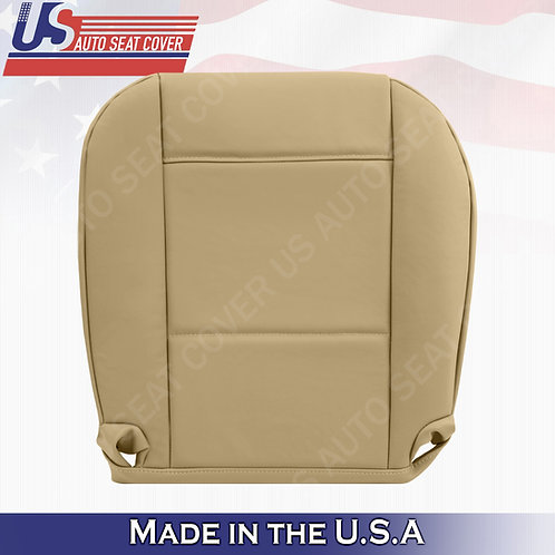 For 1999 to 2006 BMW 325I 350I Passenger Bottom Leather Seat Cover Tan