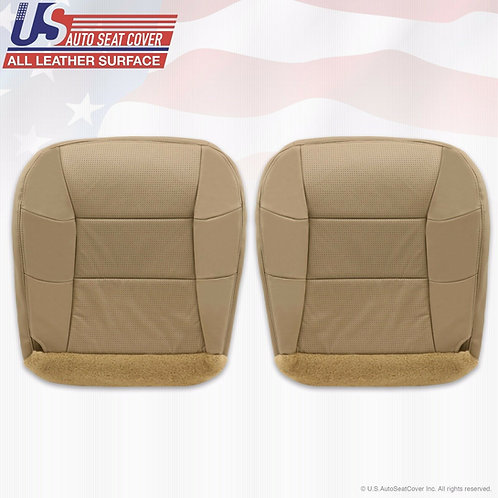 2000-2002 Lincoln Navigator Driver Passenger Bottom Perforated Leather Cover Tan