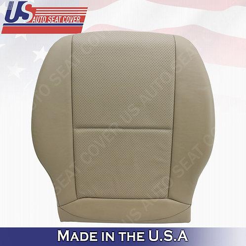 For 2008-2014 Mercedes Benz C250 300 SPORT Passenger Bottom Leather Cover Beige