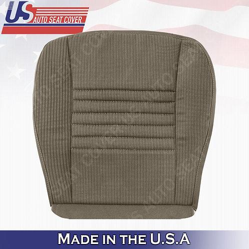 2006-2008 Dodge Ram 1500 WORK TRUCK Passenger bottom cloth seat cover in Tan