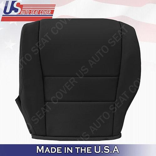 For 2007-2011 Honda CR-V Driver  Bottom Leather seat cover Black