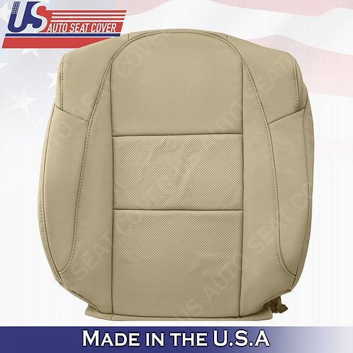 Fits 2013-2018 Acura RDX Driver Passenger Tops Perforated Leather seat Cover Tan