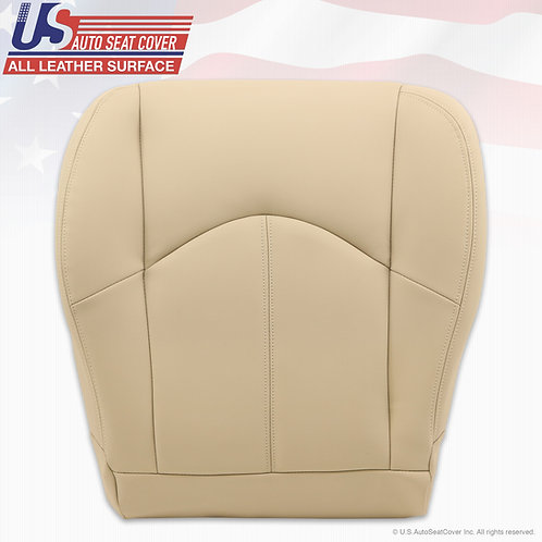 1999-2003 Lexus RX300 Driver Bottom leather seat cover Ivory Tan