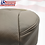 Thumbnail: 2011 to 2016  Ford F250 Lariat Driver Bottom Perforated Leather Seat Cover