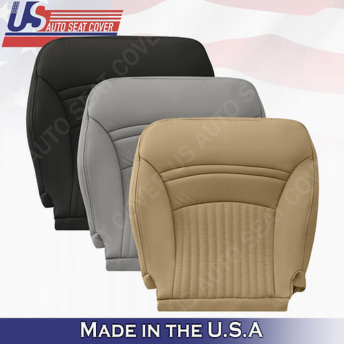 1997-2004 Chevorlet Corvette Driver Passenger Bottom Leather Seat Cover