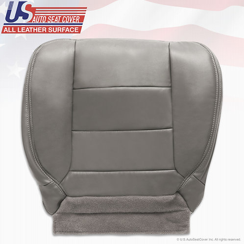2002-2007 Ford F250 F350 Lariat EXTENDED CAB Passenger Bottom Leather Cover Gray