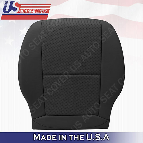 Fits 2008-2014 Mercedes Benz C250 SPORT Driver Bottom Leather Cover Black