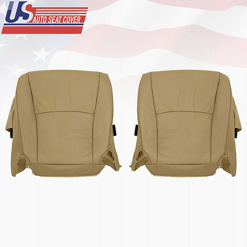 For 2003-2007 Toyota Highlander Bottoms Leather Perf. Cover Tan