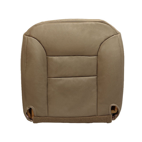 1996 Chevy Tahoe Suburban Driver Side Leather Bottom Seat Cover Tan