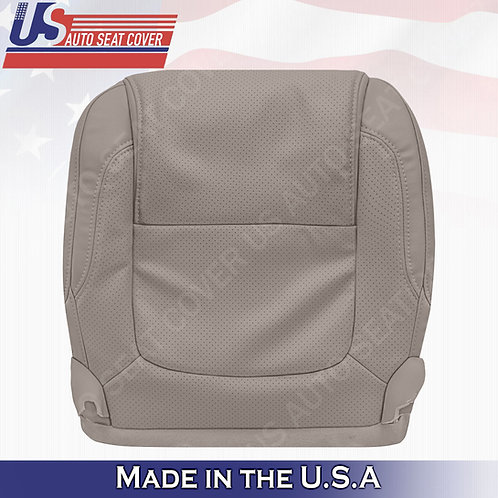 2011 - 2015 Ford Explorer Driver Bottom leather Perf. Seat Cover Stone