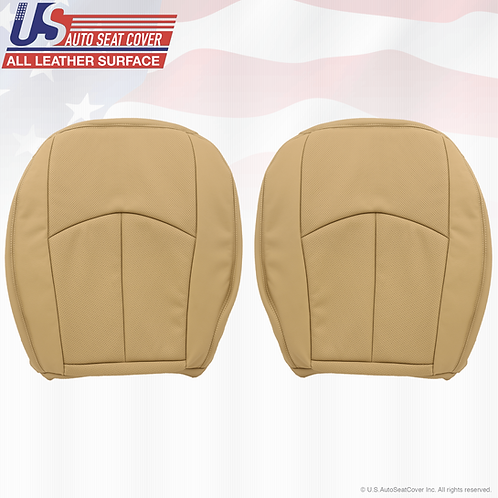 For 2004-2009 Mercedes-Benz E350 Driver-Passenger Bottoms,Tan Perforated Leather