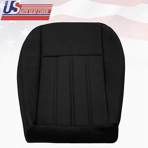 For 2005- 2010 Chrysler 200 300 Passenger Bottom Vinyl seat cover Black