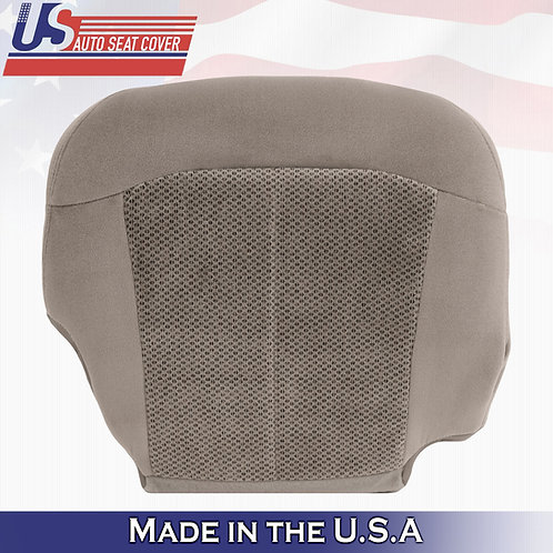 1999 to 2002 Chevy Silverado Front PASSENGER Bottom Tan Cloth Replacement Cover