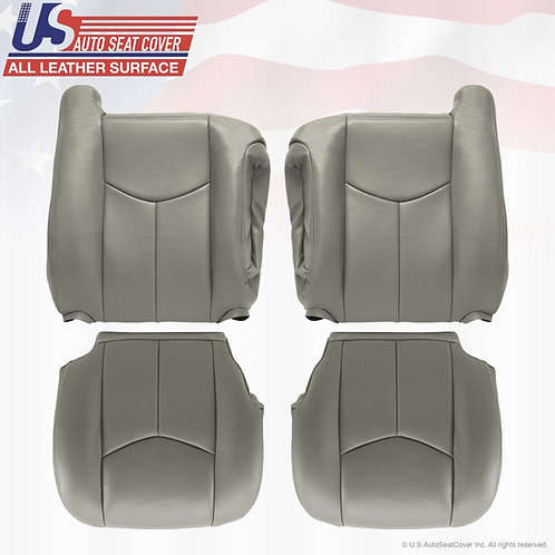 2003-2006 CHEVY Silverado VINYL  Driver & Passenger tops, bottoms cover gray