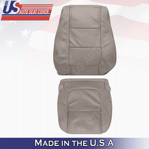 2011 - 2015 Ford Explorer PASSENGER Bottom- Top leather Perf. Cover Stone