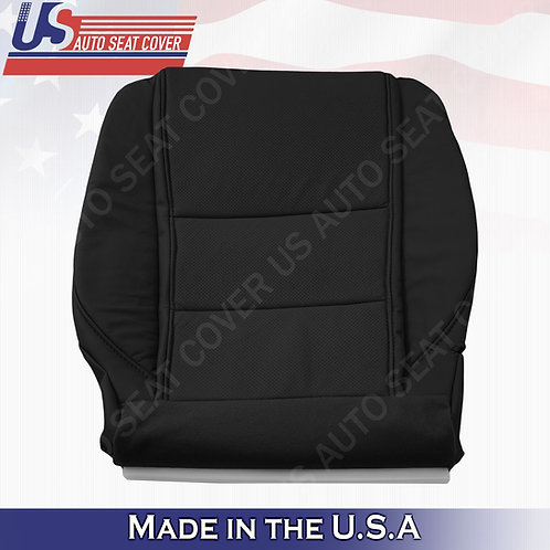Driver Perforated Bottom Black Leather fits 2009-2014 Acura TL