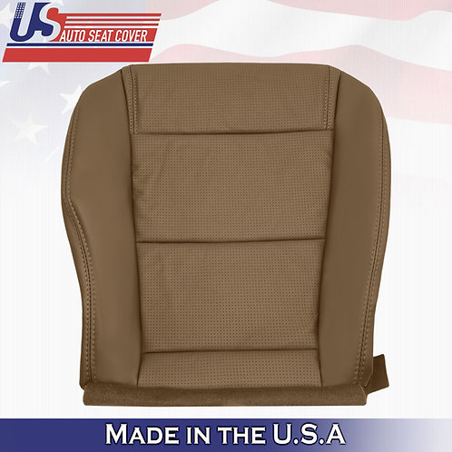 2001-2006 Acura MDX Driver Bottom Perforated Leather Seat Cover SADDLE TAN