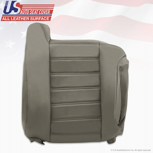 copy of 2003-2007 Hummer H2 Passenger Lean Back VINYL Seat Cover Wheat Gray