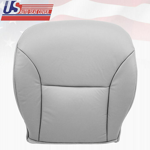 Fit 2006 Lexus ES300 ES330 Driver Bottom leather Seat Cover Gray