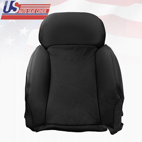 For 2006-2011 Lexus GS350, 350AWD Driver Top Perforated Leather Seat Cover Black