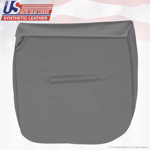 2002 -2007 Ford F450 XL Work Truck Passenger Bottom Vinyl Seat Cover Gray