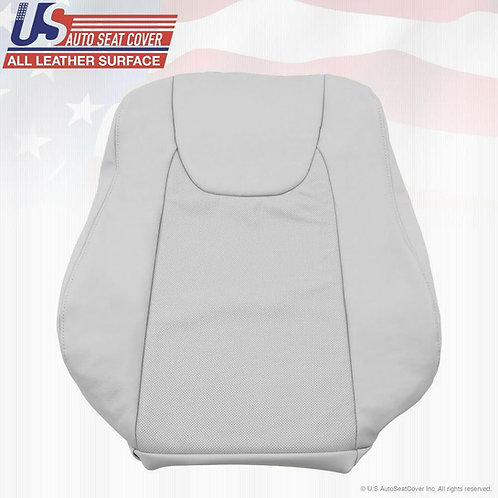 For 2010 2011 2012 Lexus RX350 Driver Top Perforated Leather Seat Cover Gray