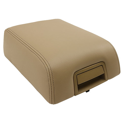 2004 2005 2006 2007 2008 F150 Lariat Armrest Console Synthetic DIY Lid Cover Tan